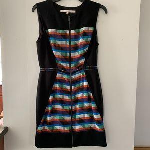 Rachel Roy Geometric Print Sheath Dress
